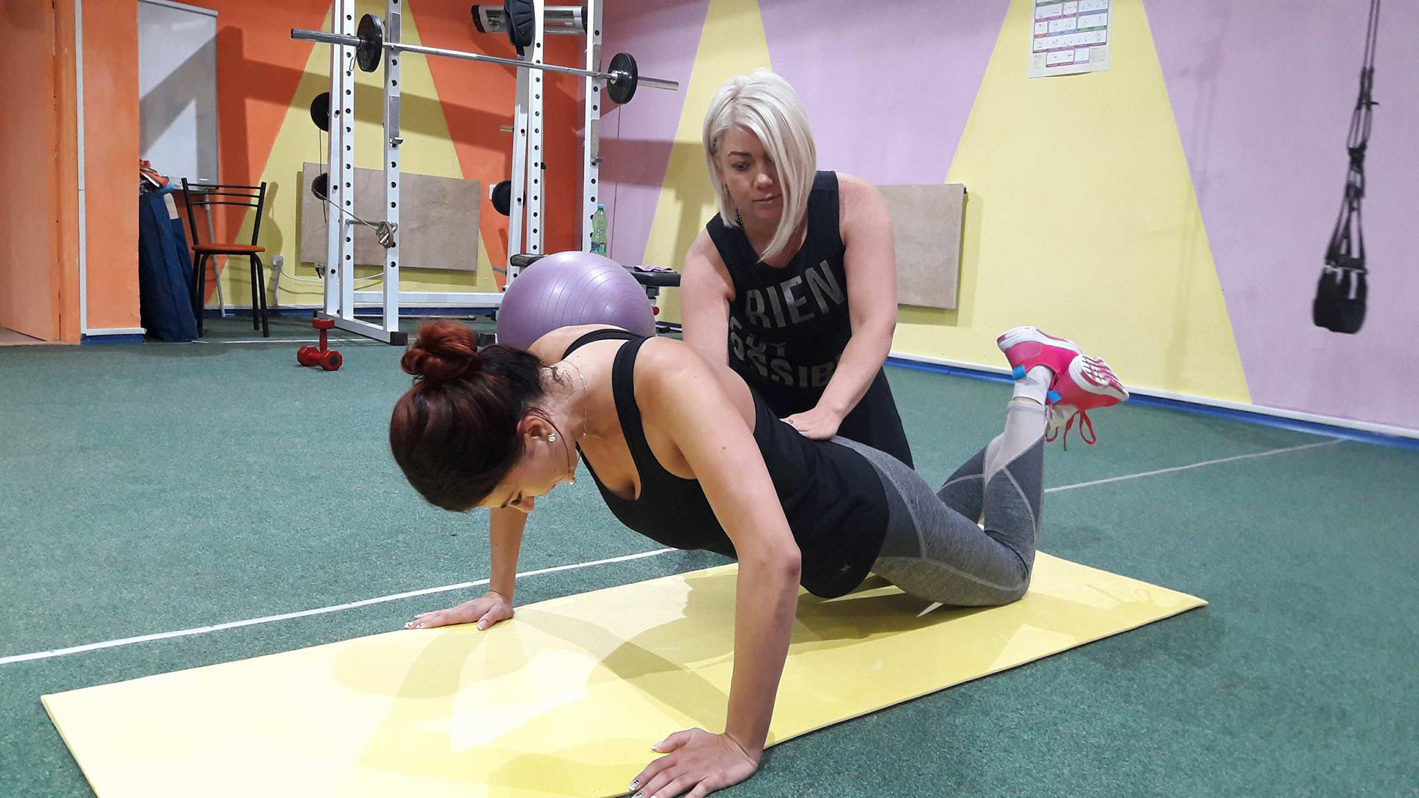 персональные тренировки студия фитнеса харьков