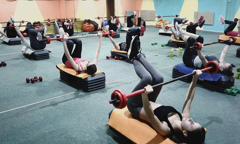 силовой фитнес клуб на героев труда салтовка