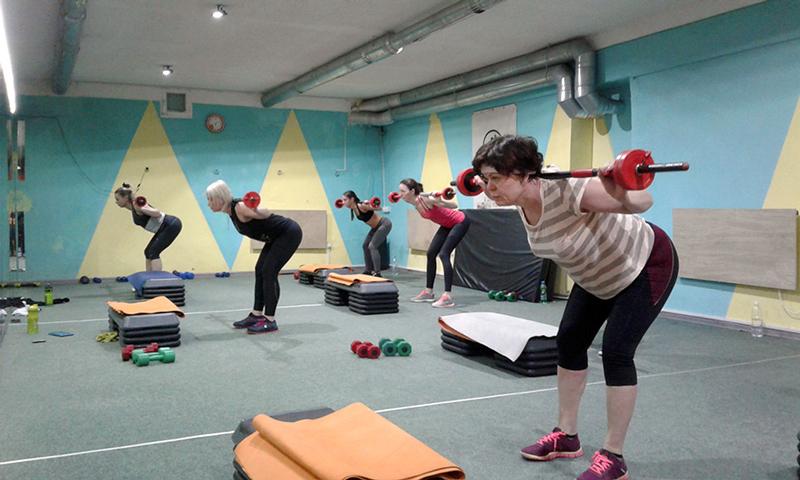 силовой фитнес клуб харьков салтовка